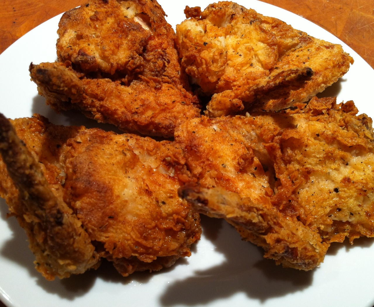 Oven Fried Chicken Wings Live The Live