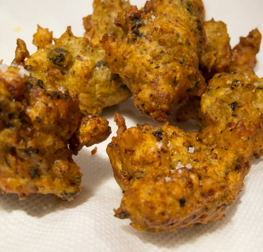 AWESOME MUSSEL FRITTERS (3/3)
