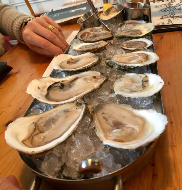 Oysters at Eventide.
