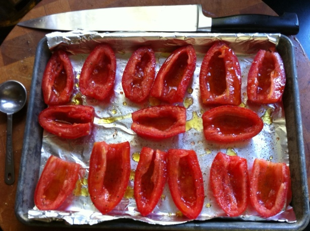 Tomatoes before