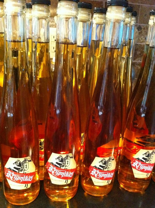 Versions of Krupnikas are available in liquor stores: Old Krupnik is a ...