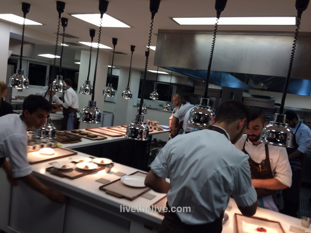 The kitchen at Mugaritz.