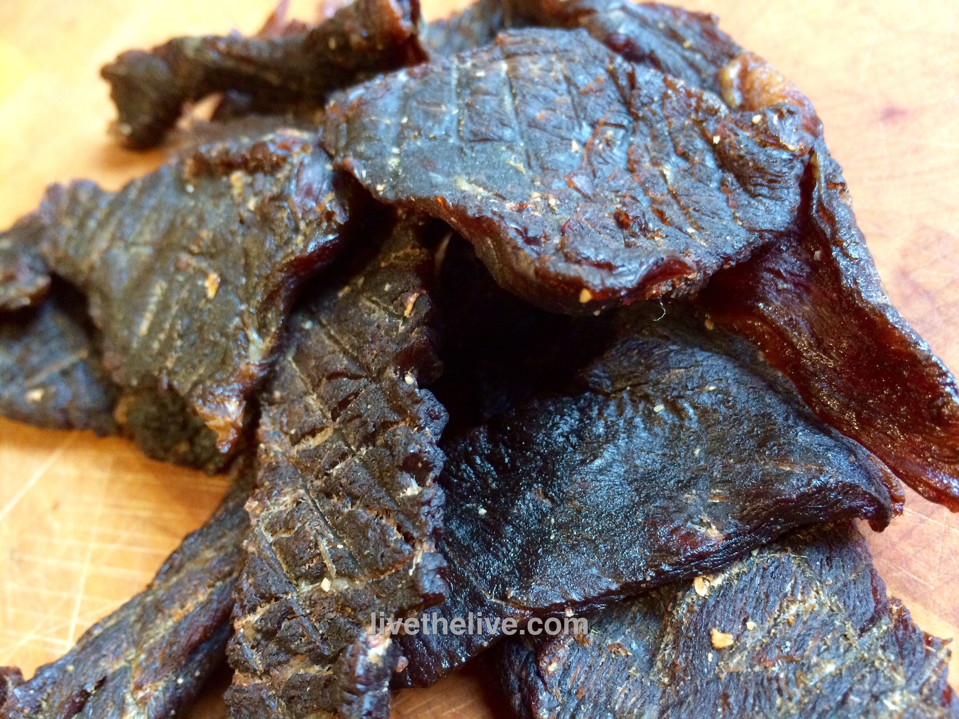 Home Made Beef Jerky Is The Best Live The Live