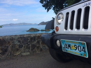 St. John  has rapidly become the island of the Jeep Wrangler. You'll find this as a rental more than any other kind of vehicle. Always reserve your car while you're still at home, before your trip. They go fast.
