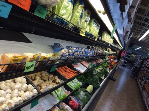 Local markets have kept up with the times, and you can now find gluten-free and organic foods easily on St. John.