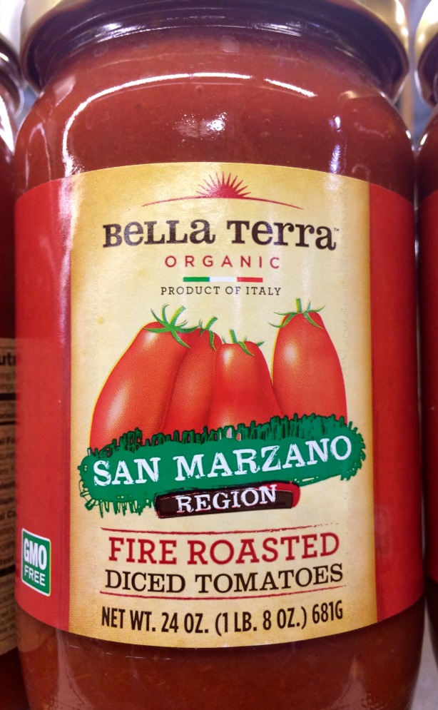 "Nope. ""San Marzano region,"" but not necessarily the variety."